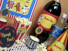 Family movie night printables!