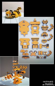 Easy Perler Bead Patterns, Melty Bead Patterns, Perler Bead Templates, Beading Patterns, Perler Bead Mario, Pokemon Perler Beads, Diy Perler Beads, Hamma Beads 3d, Fuse Beads