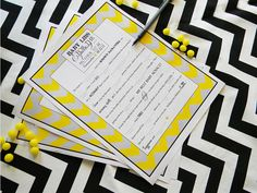 Printable Baby Libs for the Expecting Mom   Chevron by sweetsanity, $10.00