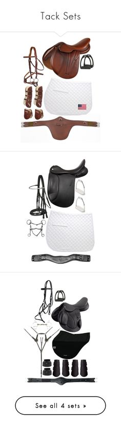 """Tack Sets"" by limitlesssky ❤ liked on Polyvore featuring Evergreen Enterprises, equestrian, Horse, rootd, showjumping, tack, dressage, Universal and country"
