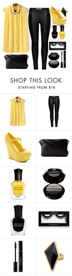 """Geen titel #287"" by dipske ❤ liked on Polyvore featuring moda, ONLY, Marc by Marc Jacobs, Deborah Lippmann, Giorgio Armani y Belle Noel by Kim Kardashian"