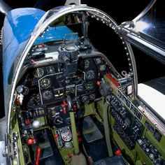 Climb Into the Cockpits of History's Greatest Warplanes, From WWI to Today P51 Mustang, Ww2 Planes, Military Love, Flight Deck, One Pilots, Model Airplanes, Military Aircraft, Wwii, Aviation