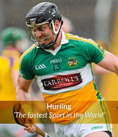 Hurling - The Fastest Game in the World - GAA, the pride the passion Find My Ancestors, Irish Roots, Irish Eyes, Comedy Series, Isle Of Man, World Of Sports, Man United, My Favorite Image, Random Things
