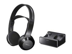 Sony Long Range Wireless Stereo Headphones with Wide Comfortable Headband, Volume Control and Mute Switch + DB Tech Digital to Analog Audio Converter for all Panasonic VIERA & Full HD HDTV Large Screen Plasma TV - Works Up To 26 feet Away Wireless Headphones For Running, Wireless Headphones For Tv, Headphone With Mic, Just In Case, Plasma Tv, Open Type, Tv Reviews, Rocking Chairs