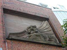 Local art Garden Sculpture, Lion Sculpture, Baltic Sea, Statue, Adventure, Outdoor Decor, Art, Kiel, Craft Art