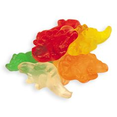 I roar and play with these as I eat them. Good times.