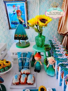 Si Mi Reina 's Birthday / Frozen Fever & Wonder Woman - Photo Gallery at Catch My Party Wonder Woman Birthday, Birthday Woman, Frozen Fever Party, Birthday Parties, Party Ideas, Babies, Disney, Frozen Party, Meet