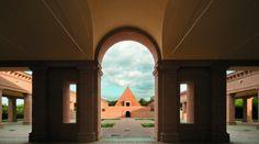 Labirinto della Masone (veduta della corte centrale), Fontanellato, Parma