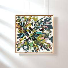 """Daniel Avenue"" (2017) 36 x 36 Acrylic on Canvas  Taelor Fisher Painting"