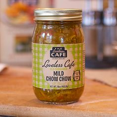 Sweet n' Spicy Pickled Okra recipe from the Loveless Cafe in Nashville, TN. Old Fashioned Chow Chow Recipe, Green Tomato Chow Chow Recipe, Chow Chow Relish, Piccalilli, Sweet N Spicy, Pickled Okra, Vegetarian Cabbage, Chicken Salad Recipes