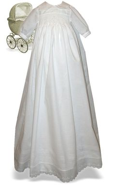 Smocked c gown