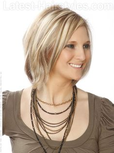 Image result for choppy highlighted hair styles