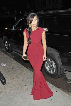 Kim Kardashian - and lovinggg that braid