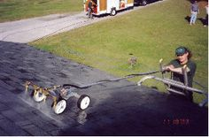 Considering the pressure washing business, build a low pressure roof cleaning machine