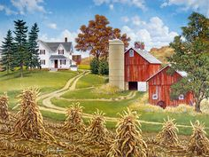 Hilltop Farm | John Sloane Art
