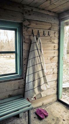 Turquioise tones in archipelago sauna Archipelago, Home Staging, Cottage Style, Villa, Lifestyle, Building, House, Painting, Workout Plans