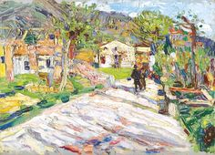 Wassily Kandinsky - Rapallo Street