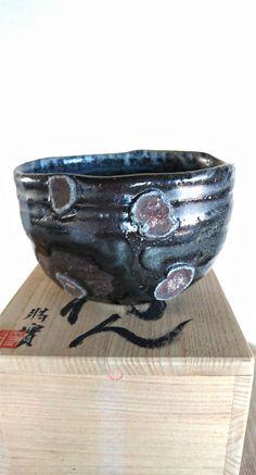 "Gorgeous Tea Bowl - Chawan  ""The black forest"" by Masami Miyajima - Japan de la boutique NOEMASA sur Etsy"