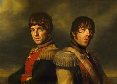 Noel Gallagher & Liam Gallagher - Replaceface Bed Throw Blanket by Replaceface - x Blanket Liam Gallagher, Framed Art Prints, Canvas Prints, Buy Frames, Cool Stuff, Random Stuff, Pillow Shams, Printing Process, Duvet Covers