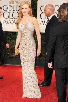 Nicole Kidman, Versace, Golden Globe Awards 2012.