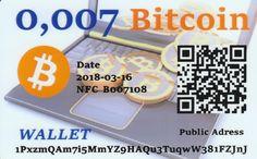 0,007 Bitcoin NFC peňaženka – DiGiPAY.sk Cryptocurrency