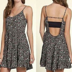 Hollister + Lucy Hale dress XS +Great used condition +Worn once +Floral design +Adjustable straps +Brand: Hollister +Size: Extra Small +NO trades; Offers  always welcome Hollister Dresses Mini