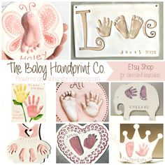 WooHoo! I'd like to welcome back Debbie, an Etsy shop owner and mom, that we've featured many times in the past here on the blog and across social media. Formally Clayful Impressions (Dprintsclayful on Etsy), her new shop name is The Baby Handprint Co. and she is giving away a handprint plaque in celebration of …
