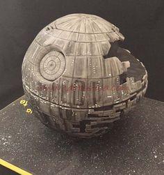 Tarta Estrella de la Muerte Star Wars Death Star cake, Star Wars