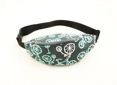 Bike  #HipBag #FannyPack by DzikaSztuka on Etsy, $22.00