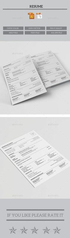 cv resume bundle