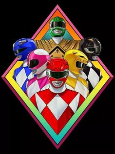 Kyōryū Sentai Zyuranger - was later adapted into Mighty Morphin Power Rangers for American audiences, beginning the Power Rangers franchise. Power Ranger Party, Power Ranger Birthday, Power Ranger Cake, Go Go Power Rangers, Mighty Morphin Power Rangers, Live Action, Kamen Rider, Pawer Rangers, Old Trucks