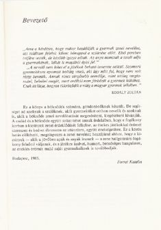 Forrai Katalin nek a blcsdben - [PDF Document] Baba, Pdf, Personalized Items, Donkeys