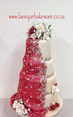 Wedding oriental cake