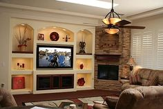 drywall built in wall units