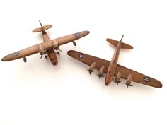 WWII Model toy airplanes StromBecker