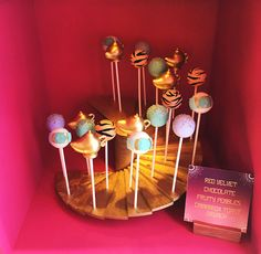 "Cave of Wonders Cake Pop Staircase from ""A Whole New World"" Aladdin Birthday Party on Kara's Party Ideas 