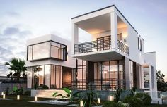 We've gathered our favorite ideas for Contemporary Modern House Design Comelite Architecture, Explore our list of popular small living room ideas and tips including Contemporary Modern House Design Comelite Architecture. Contemporary Cottage, Modern Contemporary Homes, Modern Luxury, Modern House Plans, Modern House Design, Morden House, Bungalow Haus Design, Modern Mediterranean Homes, House Design Pictures