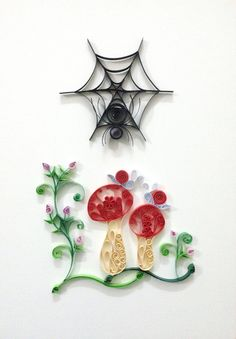 """Paper quilling """"Spy"""""""