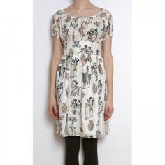 Cute dress. Cute fabric.