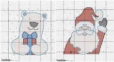 простые маленькие миниатюрные схемы для вышивки крестом, новогодние схемы, открытки с вышивкой