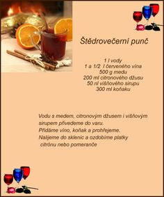 (168) Doručené – Seznam Email Christmas Candy, Christmas Baking, Pies Art, Czech Recipes, Thing 1, Smoothies, Drinking, Juice, Beverages