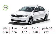 Autonoleggio a Timisoara - Skoda Rapid prezzi da 25 € / giorno Car, Automobile, Autos, Cars