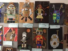 5th grade robots by my students