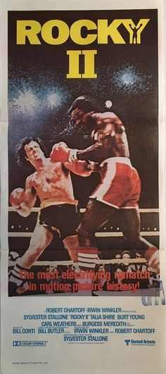 Product categories Sylvester Stallone : The Film Poster Gallery Rock Balboa, Rocky Film, Burt Young, Stallone Rocky, Apollo Creed, Carl Weathers, Cinema, The Expendables, Sylvester Stallone