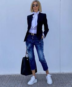 Workwear Fashion, 50 Fashion, Look Fashion, Fashion Outfits, Womens Fashion, Business Casual Outfits, Casual Fall Outfits, Classy Casual, Casual Looks