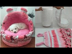 Como hacer una cama para perro con material reciclado - YouTube Dog Clothes Patterns, Chewbacca, Diy Stuffed Animals, Plastic Laundry Basket, Pet Accessories, Cat Toys, Dog Bed, Baby Car Seats, Bean Bag Chair