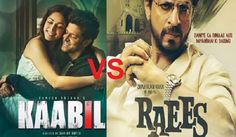 Awesome Bollywood: Raees VS Kaabil 1st Day Box Office Collection in India- SRK VS Hrithik Roshan Mo... Bollywood Movies Box Office Collection Check more at http://kinoman.top/pin/33603/