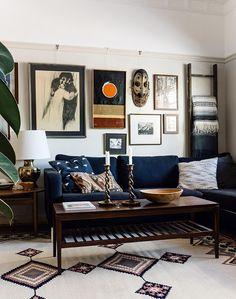 дневник дизайнера: Уютный винтажный интерьер в доме фотографа Николетт Джонсон