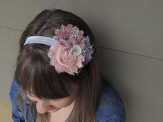 Country Chic Shabby Headband by MandasBOWtique on Etsy, $4.50