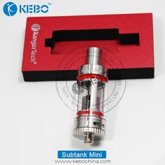 Kangertech Subtank Mini Qucik View:  1	Item Name: Subtank Mini Clearomizer 2	Capacity: 4.5ml 3	Diameter:22mm 4	Thread : 510 Thread 5	Materials: Stainless Steel + Pyrex Glass 6	Original  Kangertech Kangertech Subtank Mini Features 1	Organic Cutton Made in Japan. 2	510 Connection. 3	Pyrex Glass 4	Durable Structure 5	Enhance Airflow System. 6	RBA and OCC are Easy to Convert. 7	Subtank Mini Fit Two Different Heads.From OCC to RBA (Rebuildable Atomizer)